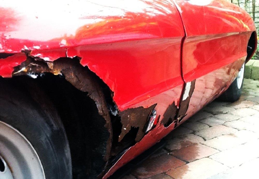 Alfa Romeo roest probleem